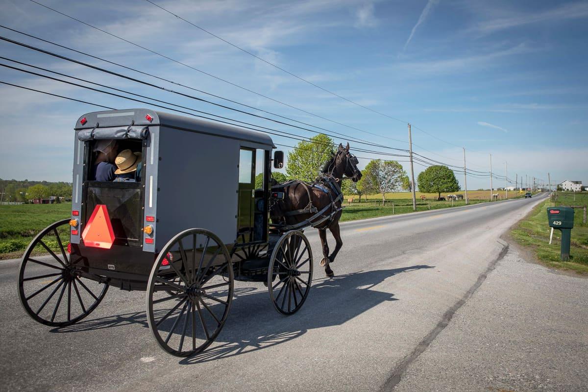 Lancaster on yksi vanhojen perinteiden mukaan elävien, pennsylvaniansaksaa puhuvien amissien asuinpaikoista.