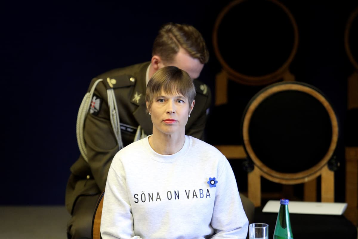 Viron presidentti Kersti Kaljulaid.