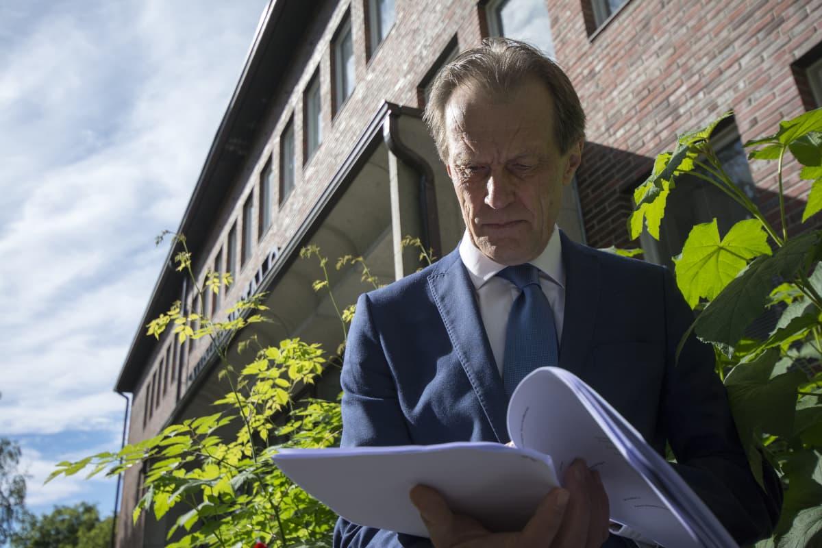 Nurmeksen kaupunginjohtaja Asko Saatsi