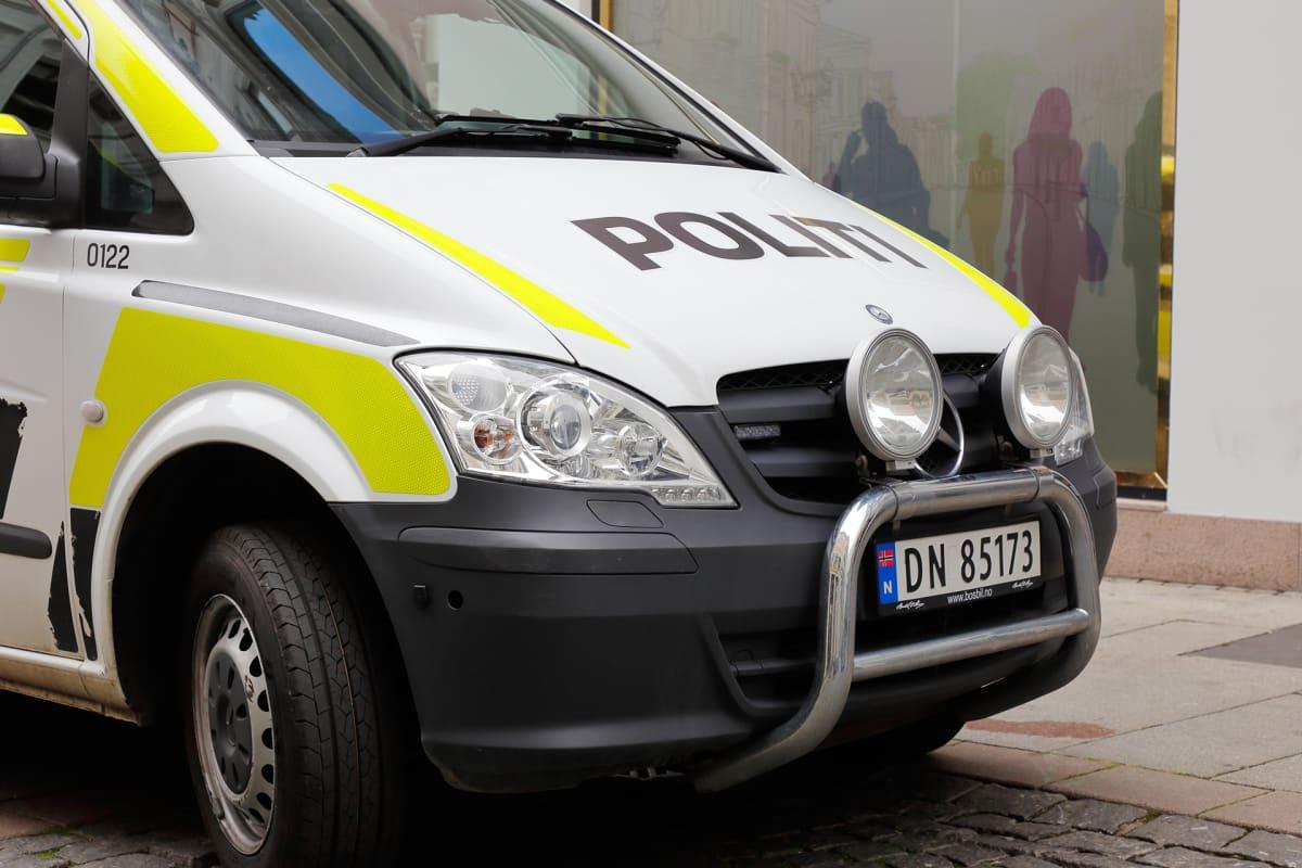 Poliisiauto oslossa.