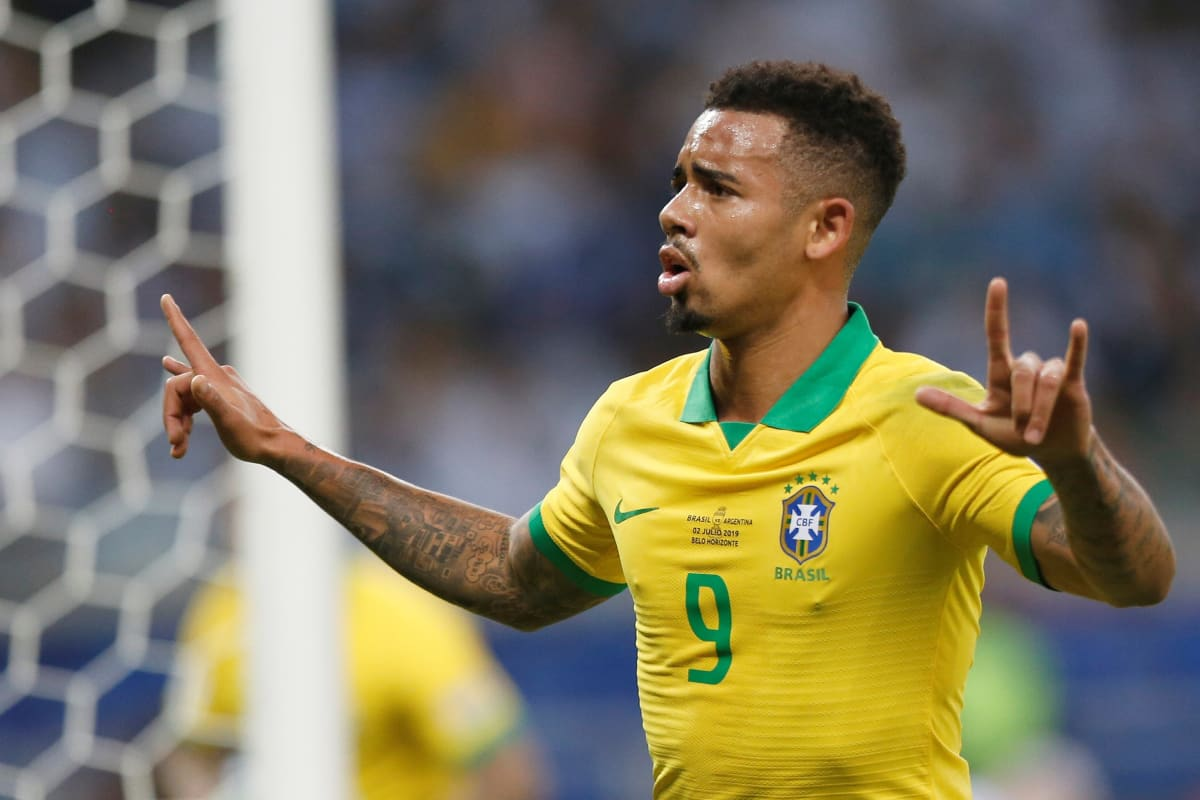 Brasilian Gabriel Jesus kuvassa