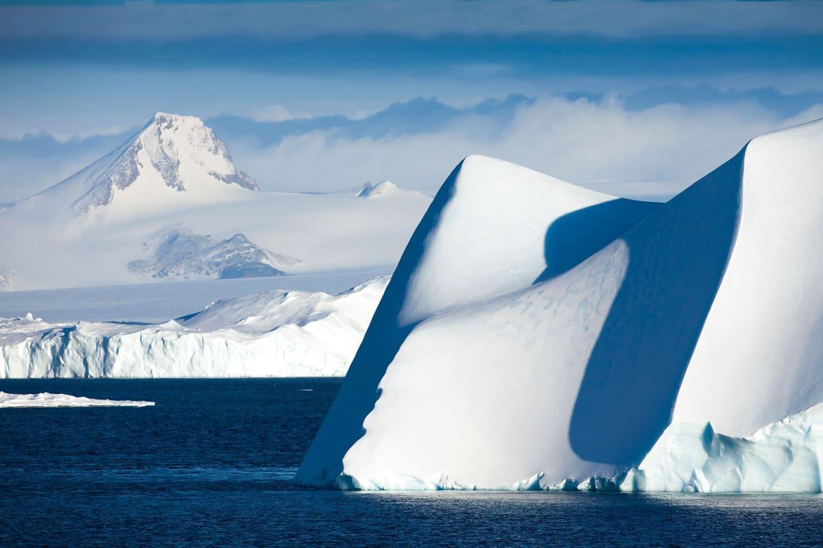 Näkymä Etelämantereelta.