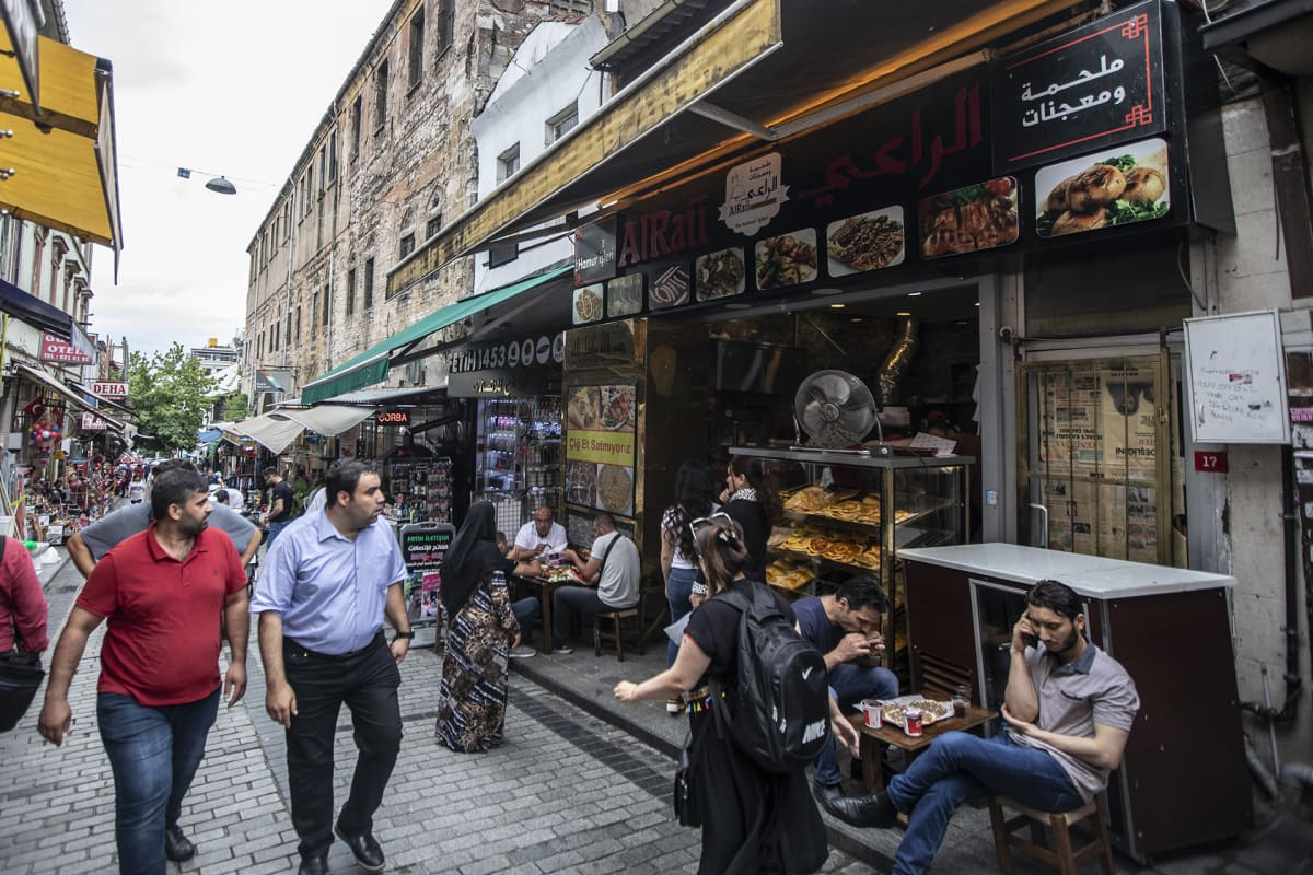 Katunäkymää Istanbulista