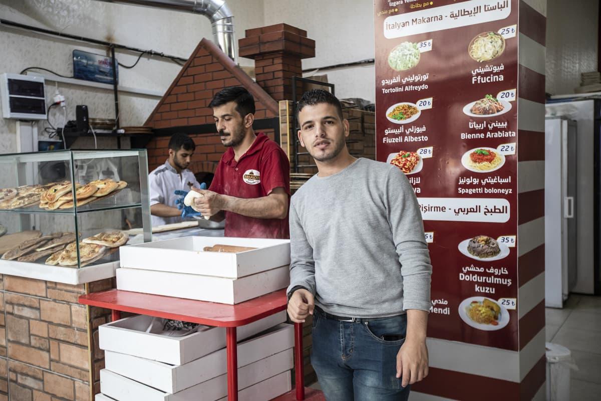 Kebab-ravintolan omistaja
