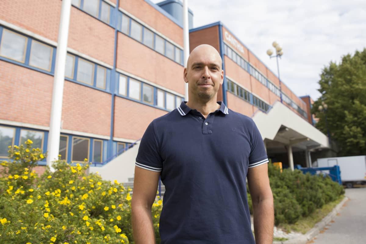 Itä-Suomen yliopison dosentti Jyrki Virtanen.