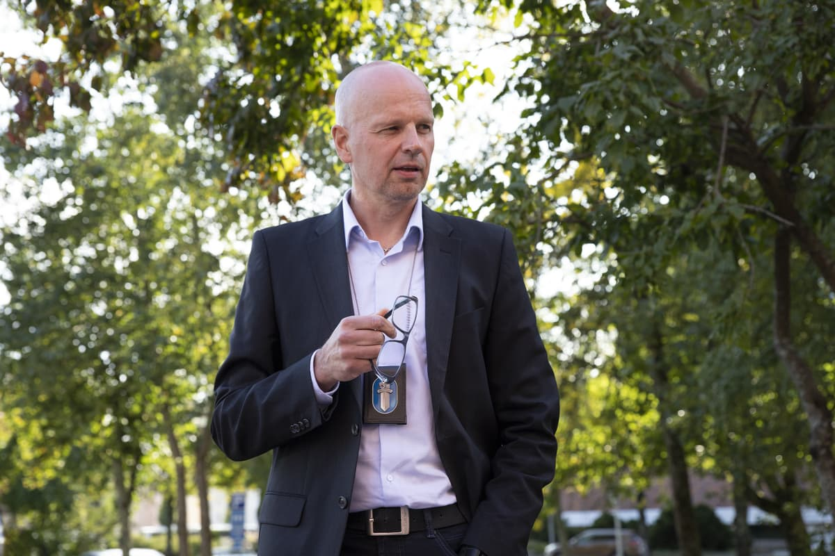 Rikosylikomisario Harri-Pekka Pohjolainen
