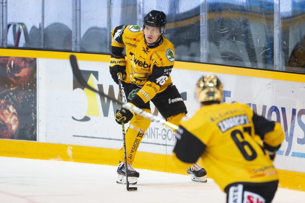 Ramstedt oli SaiPan kauden tehokkaimpia pelaajia.