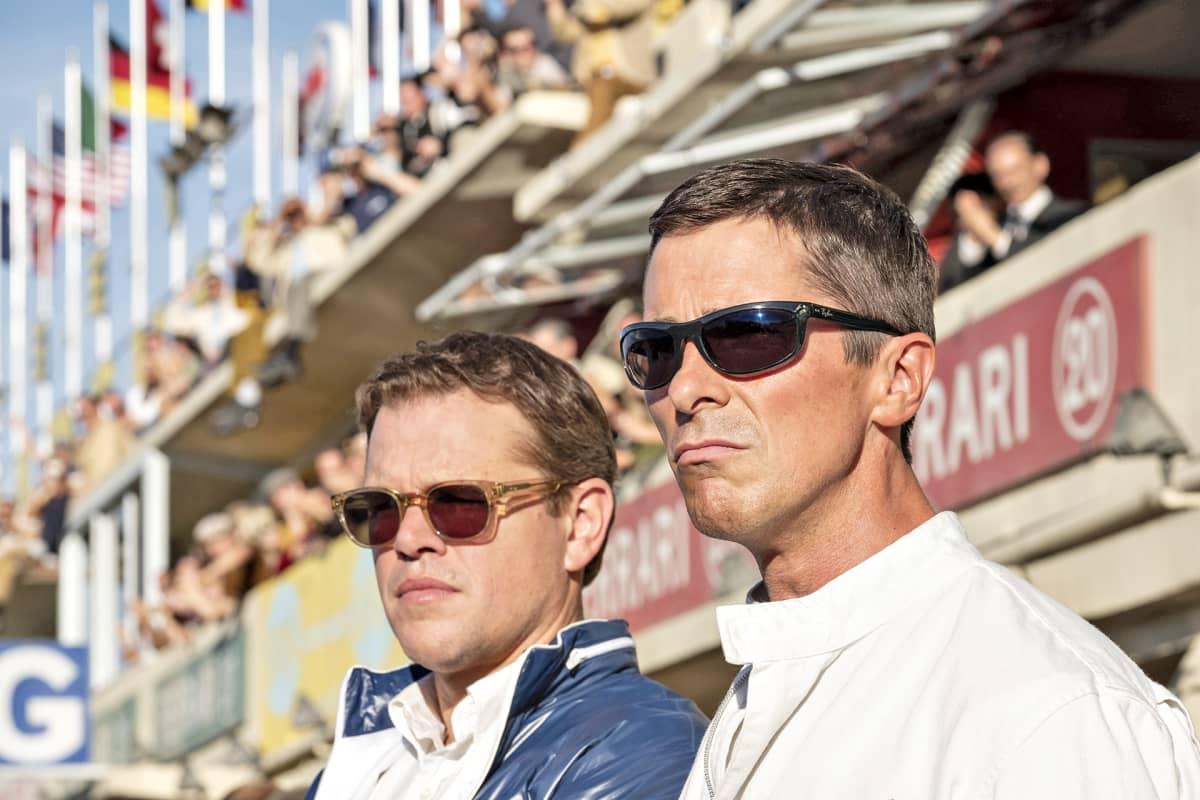 Matt Damon ja Christian Bale vierekkäin.