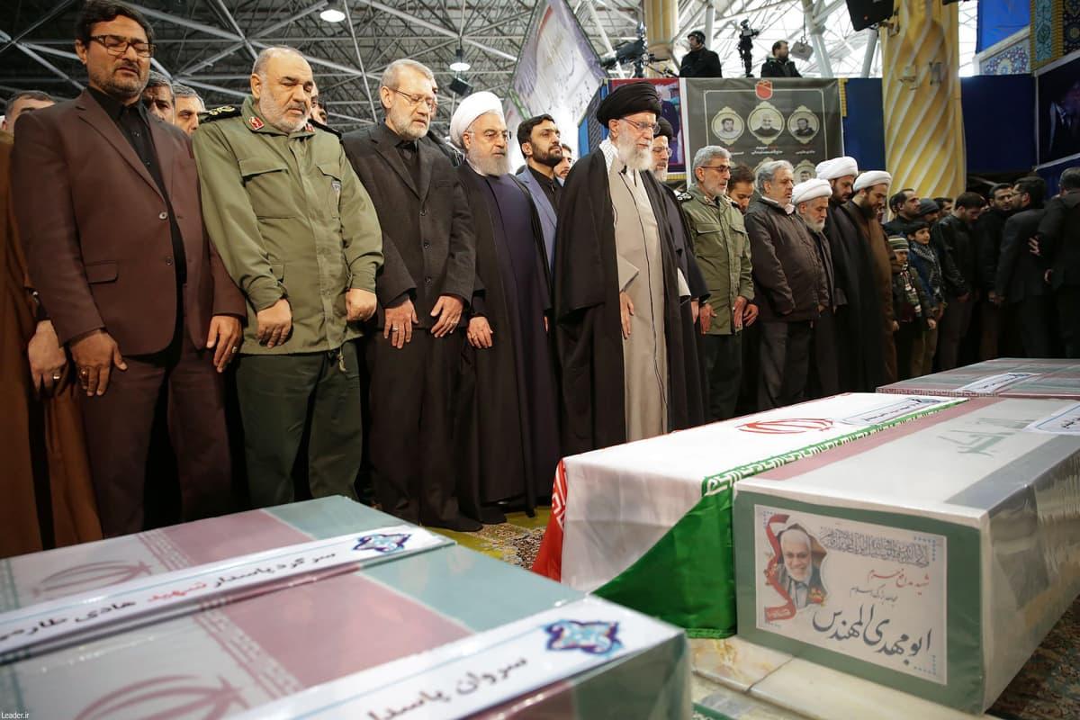 Iranissa kenraali Suleimanin hautajaiset .
