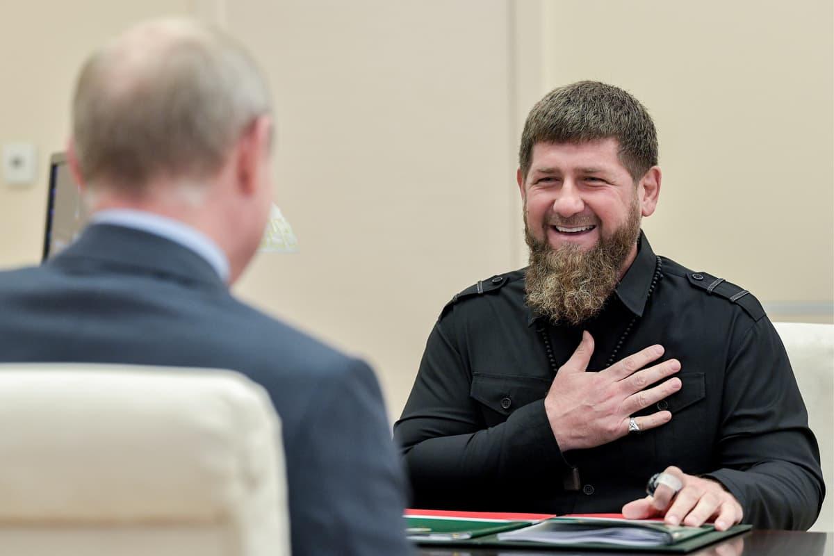 Vladimir Putin ja Ramzan Kadyrov.