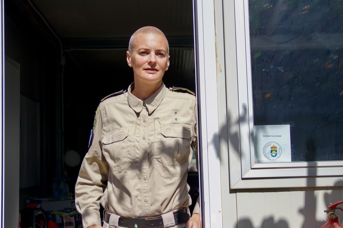 EVa-Lena Hjalmarsson tekee tiiviisti yhteistyötä Somalian oikeuslaitoksen kanssa ja kouluttaa  vanginvartijoita.