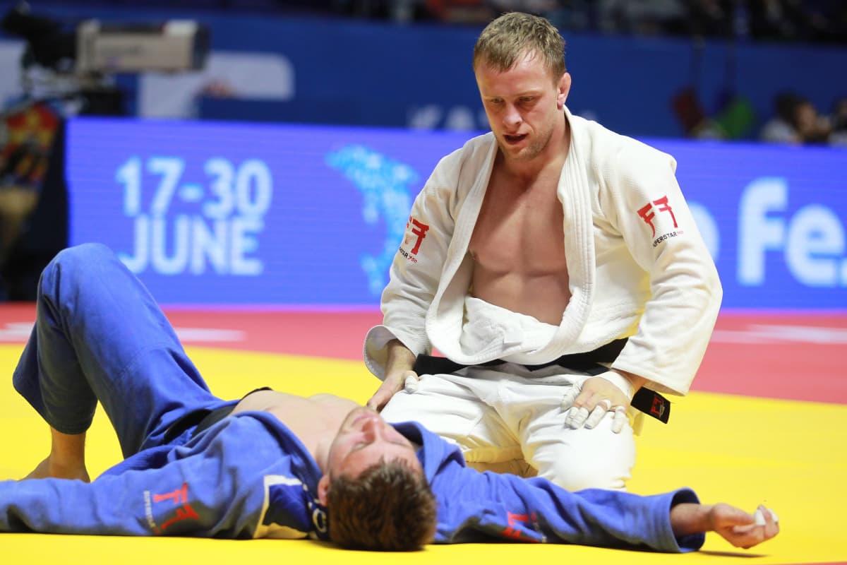 Rok Draksic (valkoinen judogi)