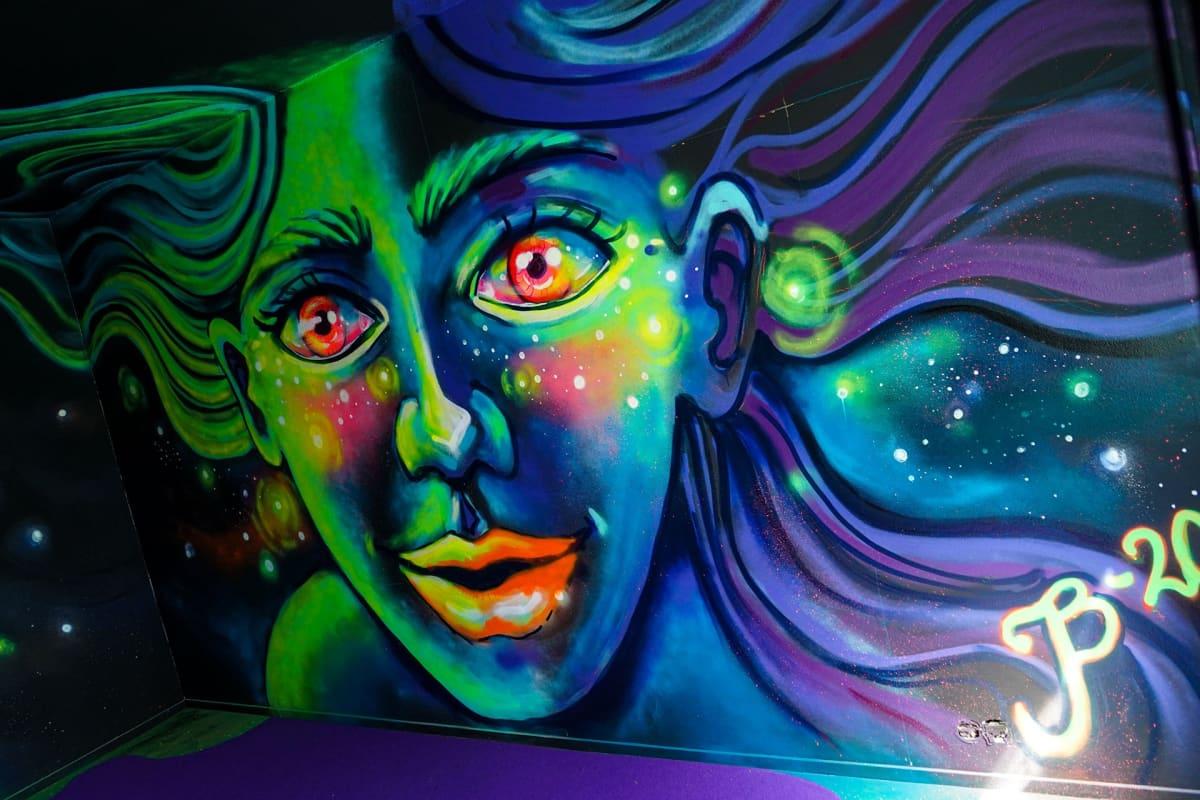purkutaide, Kerava, graffiti