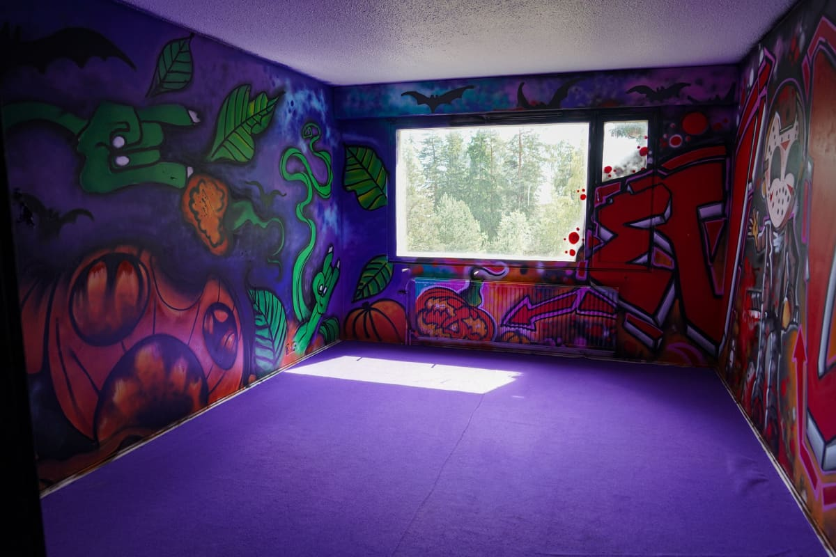Kerava, graffiti, purkutaide
