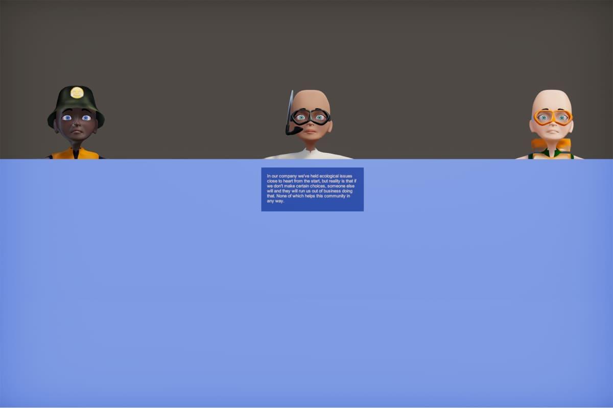 Joonas Hyvönen, God,s Flat Earth Is Drowning
