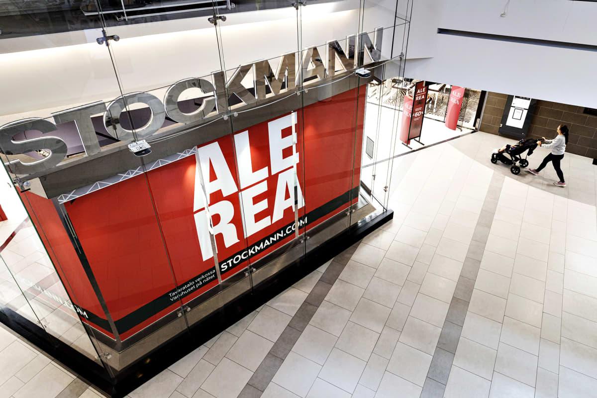 Stockmann-tavaratalo kauppakeskus Itiksessä Helsingissä 20. heinäkuuta.