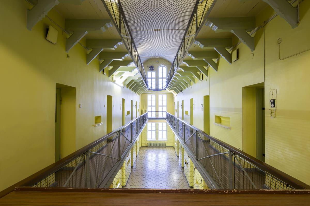 Sisäkuva vankilamuseosta