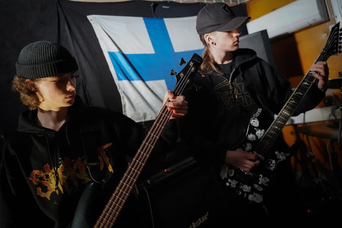 Cryptic Hatred, death metal, Miska Hagelberg, Jami Lamio