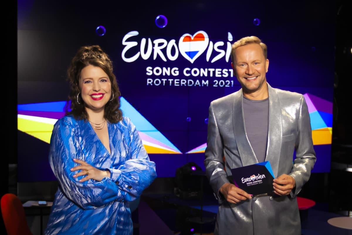 Eva Frantz ja Mikko Silvennoinen