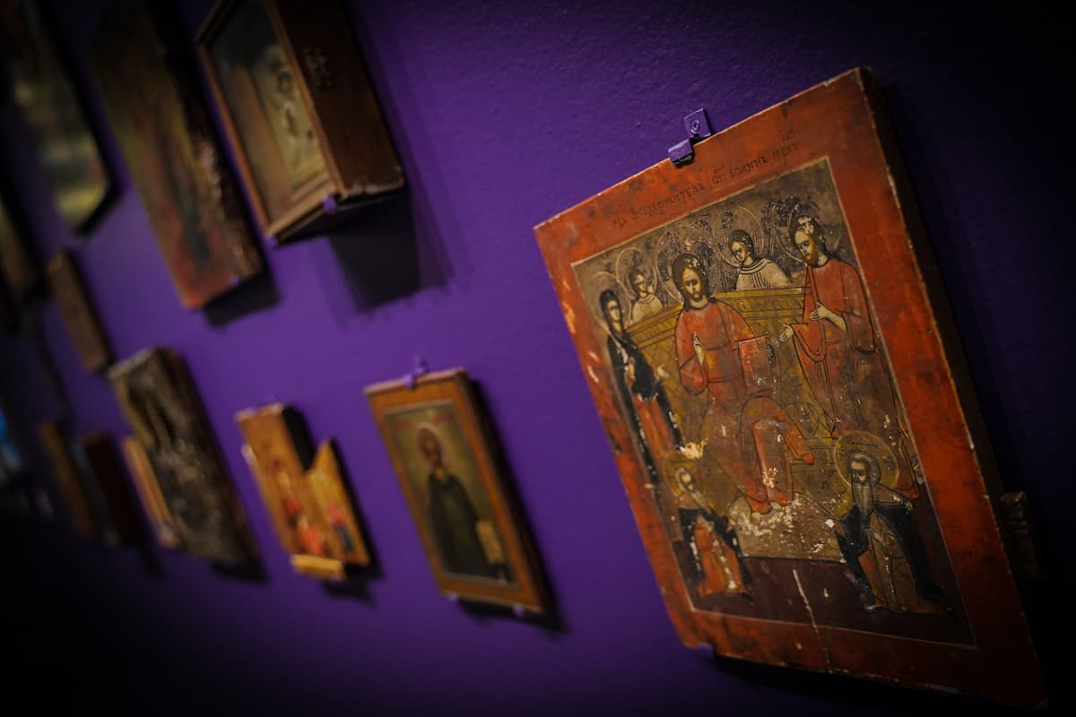 ikoni, Salon taidemuseo
