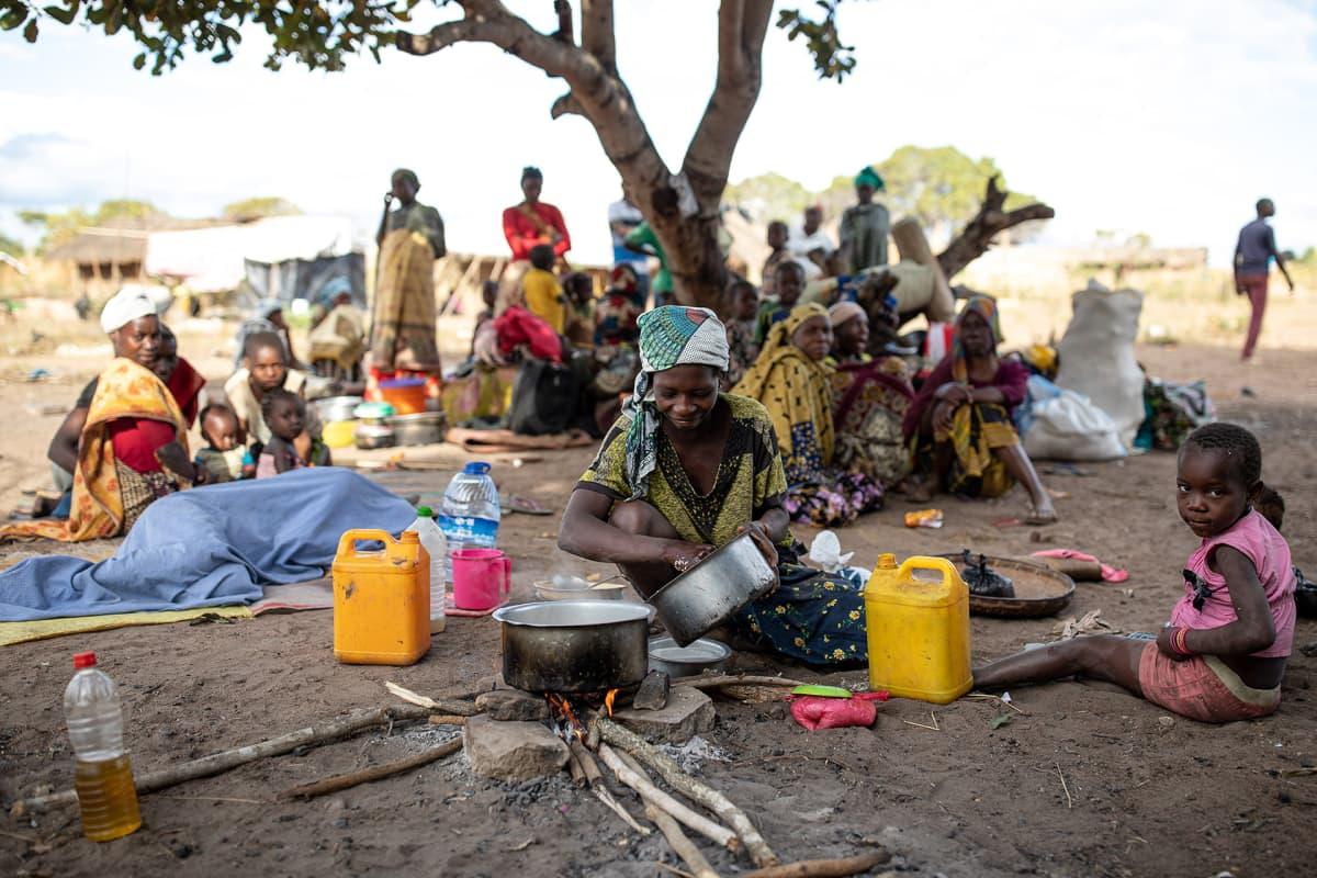 Mosambikin hallitus vähätteli pitkään konfliktin vakavuutta, mutta pakolaismäärät viime vuoden aikana ovat lähteneet räjähdysmäiseen kasvuun.