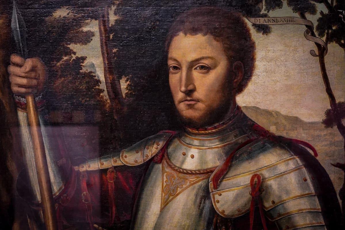 Vapriikki, ritarit, Giovanni Dalle Bande Nere