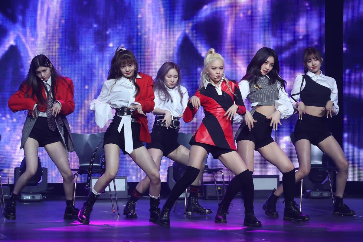 Everglow, Etelä-Korea, K-pop