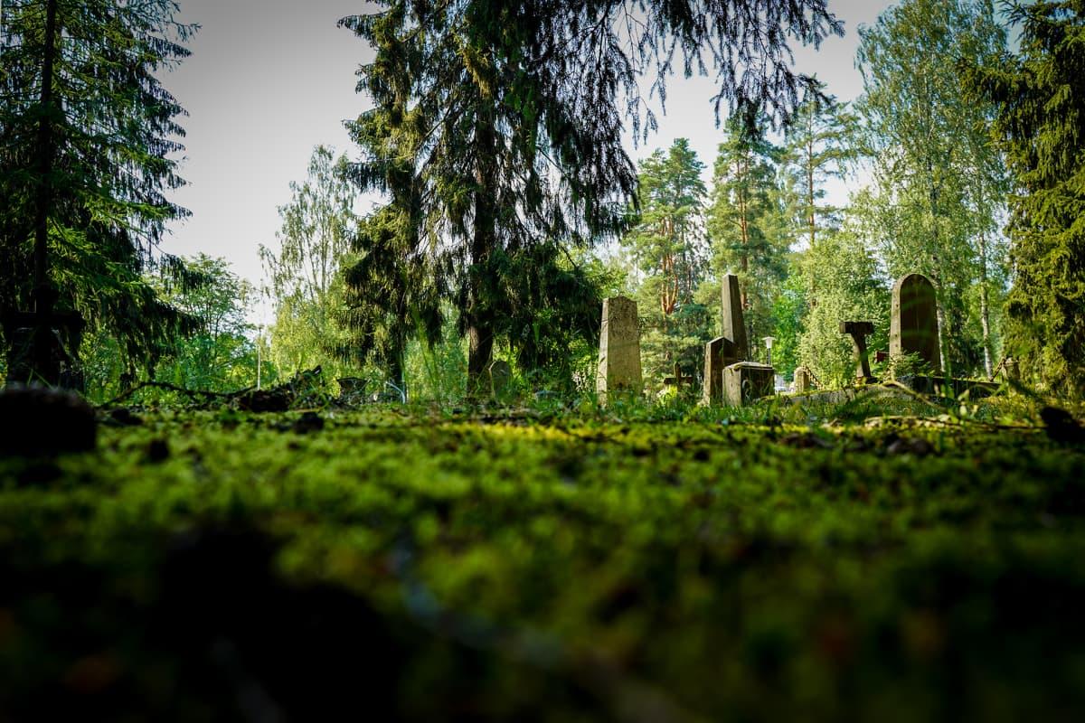 Mikkeli, hautausmaa, hautakivi