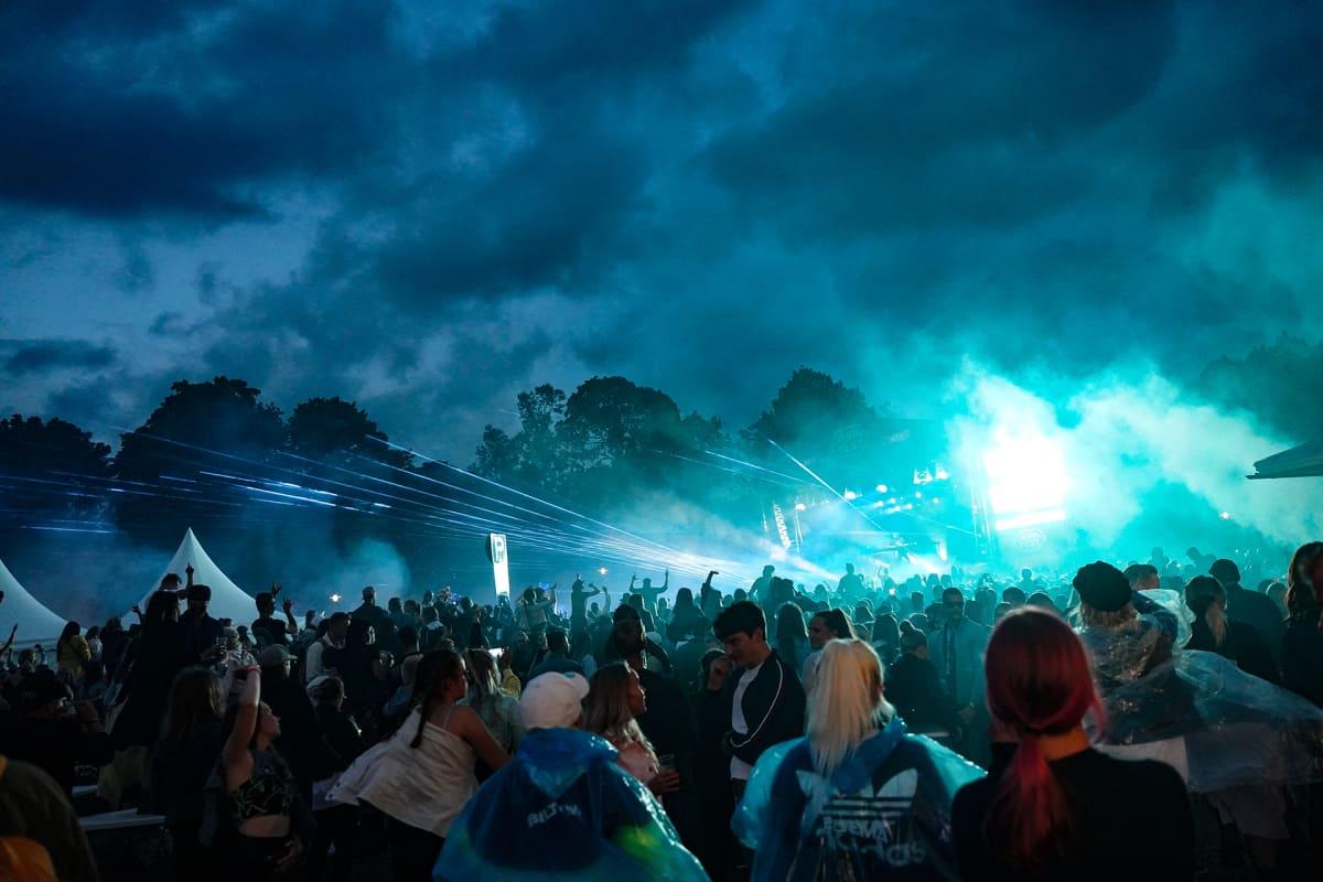 Alan Walker, Aura Fest, laser