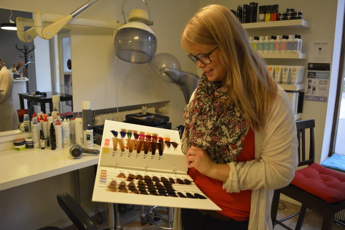 Annika Kokkonen oppisopimus parturi-kampaaja
