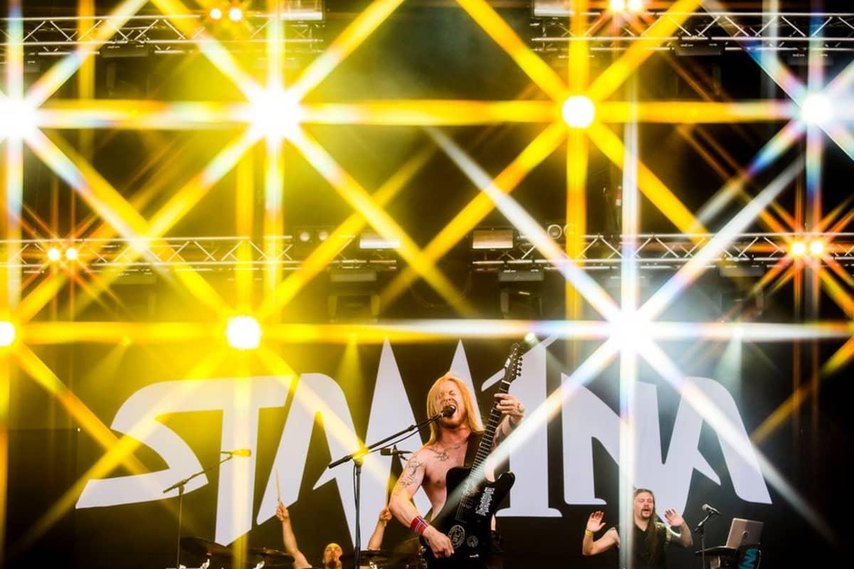 Stam1na Ilosaarirock 2014