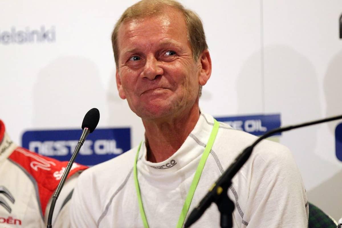 Juha Kankkunen kuvassa
