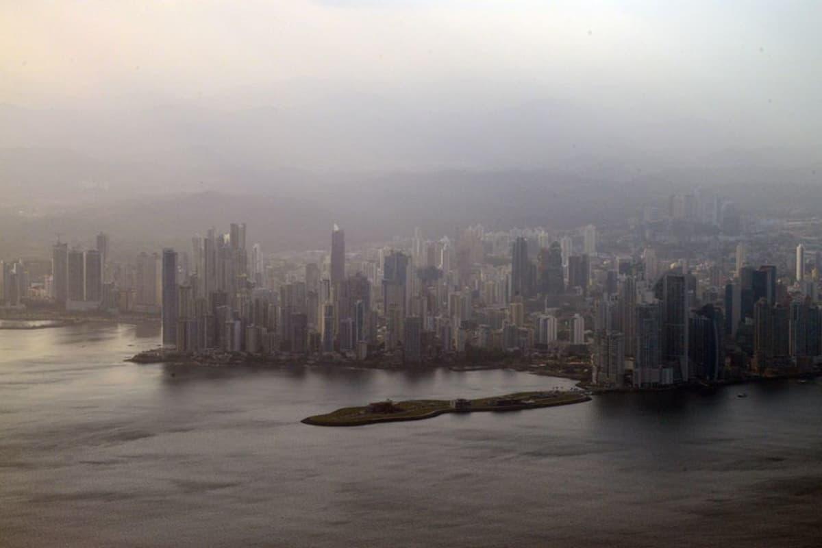 Panamán kaupunkikuva alkaa jo muistuttaa Dubaita tai Miamia.