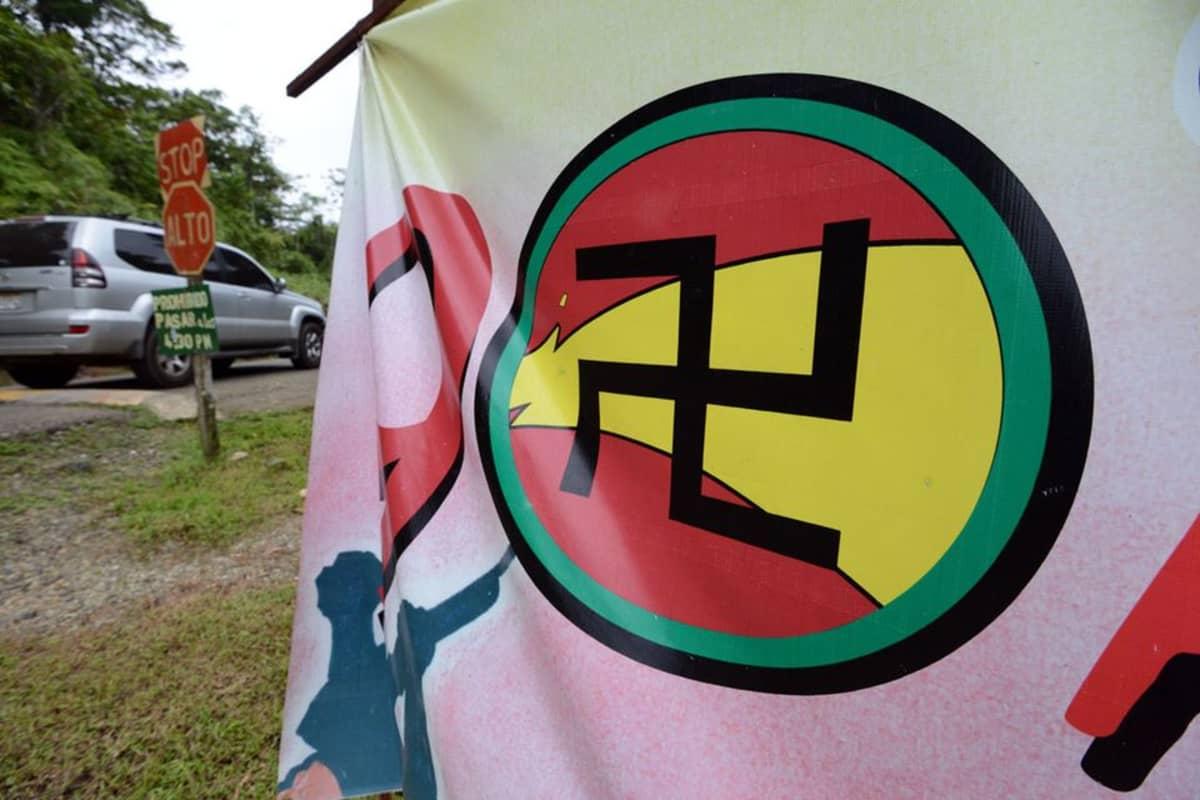 Hakaristi on guna-intiaaneille PR-ongelma, joten se on poistettu intiaanien lipusta.