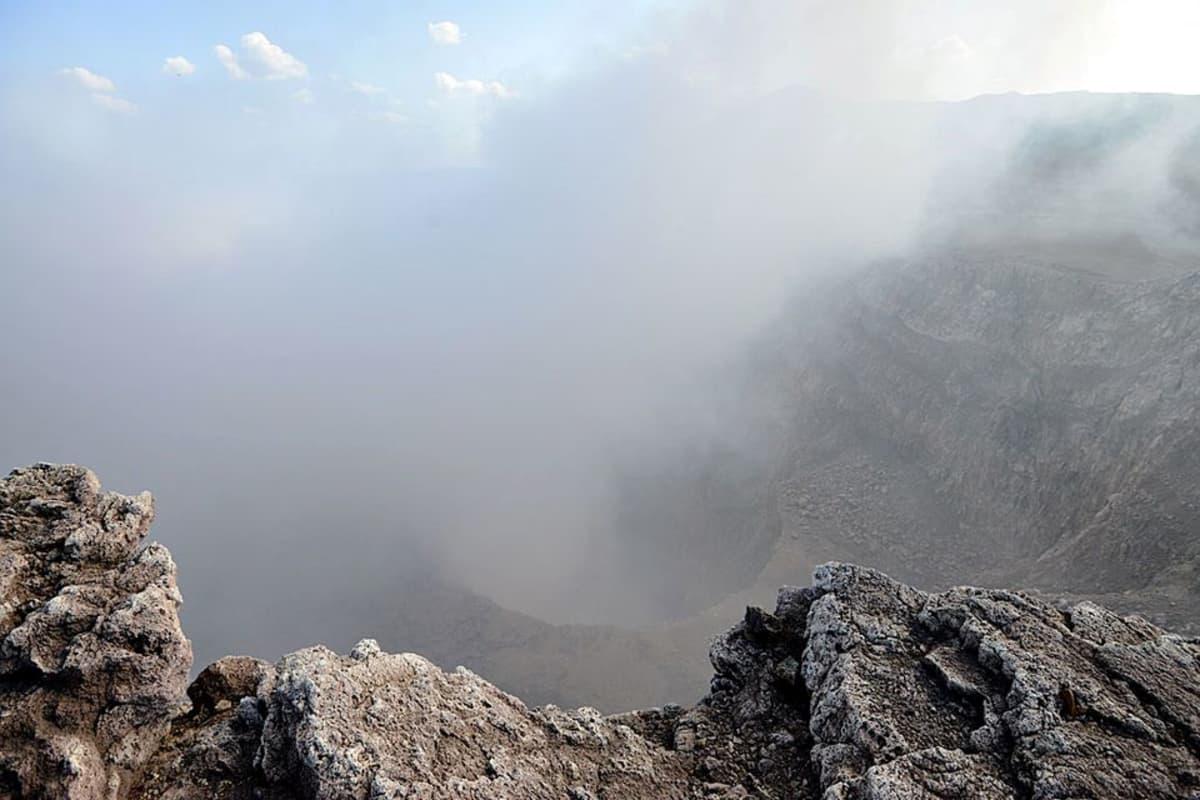 Masaya-tulivuoren kraatteri.