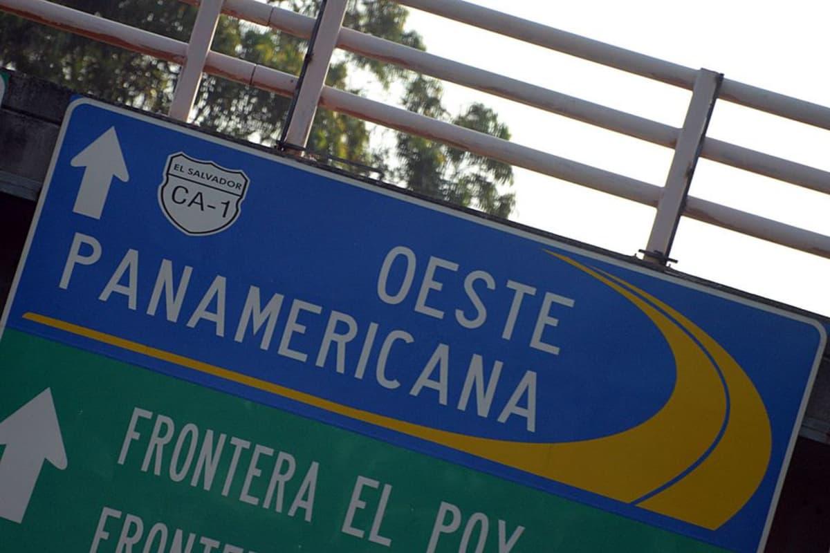El Salvador, Panamericana -tiekyltti