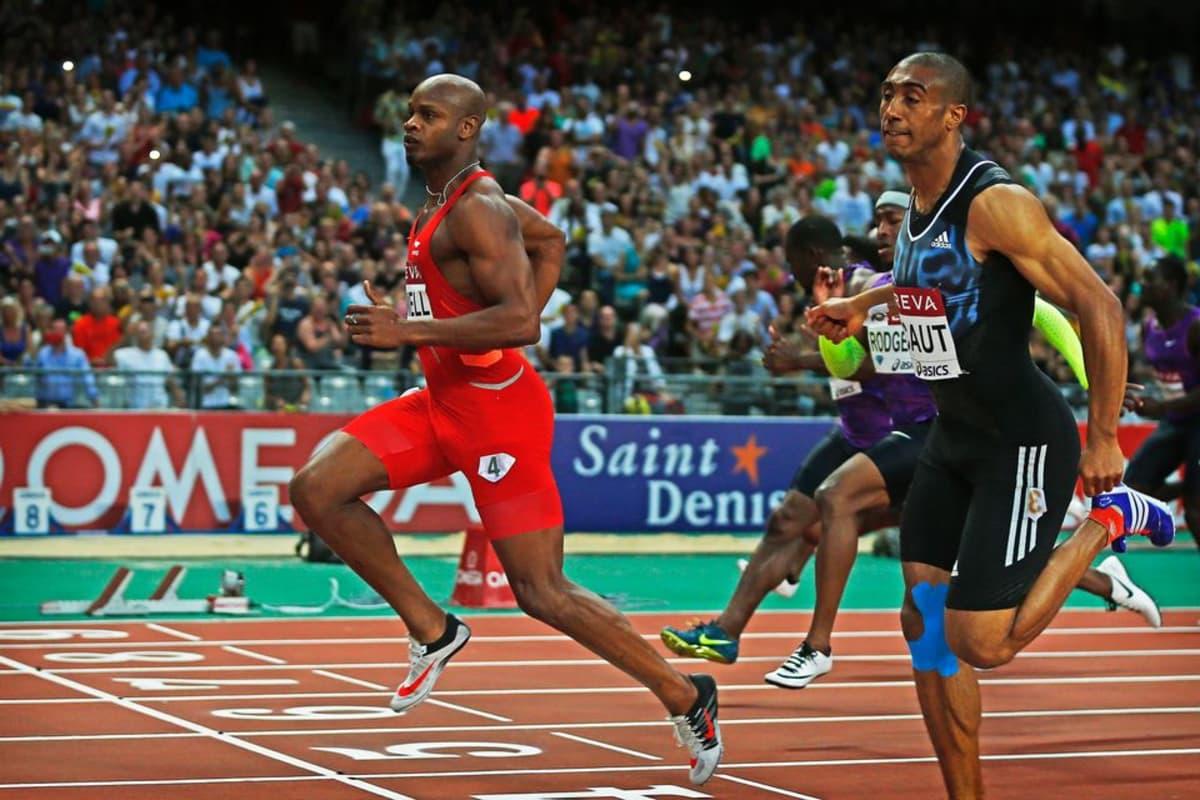 Asafa Powell voitti 100 metriä ajalla 9,81. Ranskan Jimmy Vicaut sivusi Euroopan ennätystä 9,86.