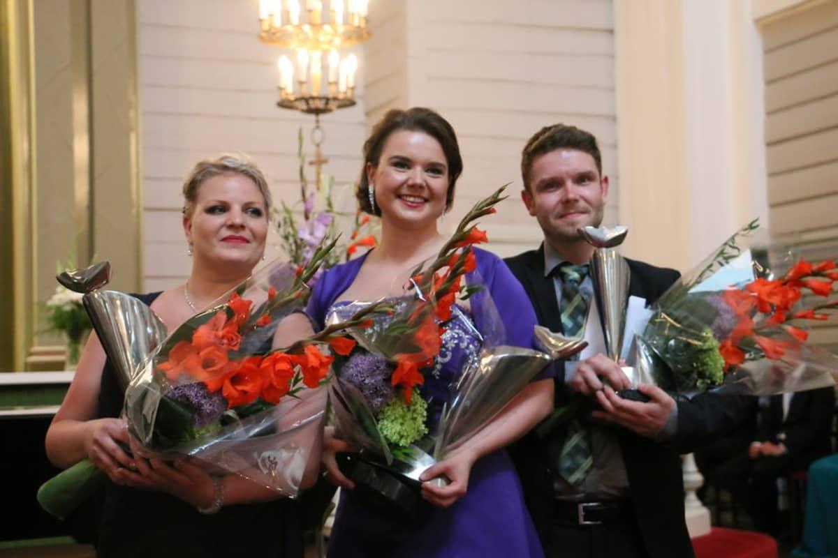 Merikanto-laulukilpailun voitti sopraano Hannakaisa Nyrönen. Finaalissa sijoittuivat toiselle sijalle sopraano Niina Laitinen ja kolmannelle sijalle baritoni Joonas Asikainen.