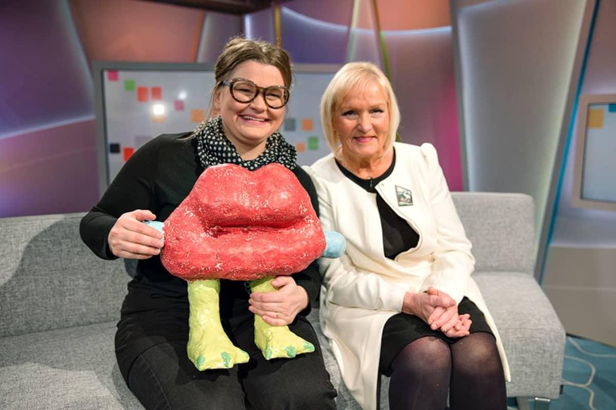 Jasmin Anoschkin ja Heljä Liukko-Sundström.