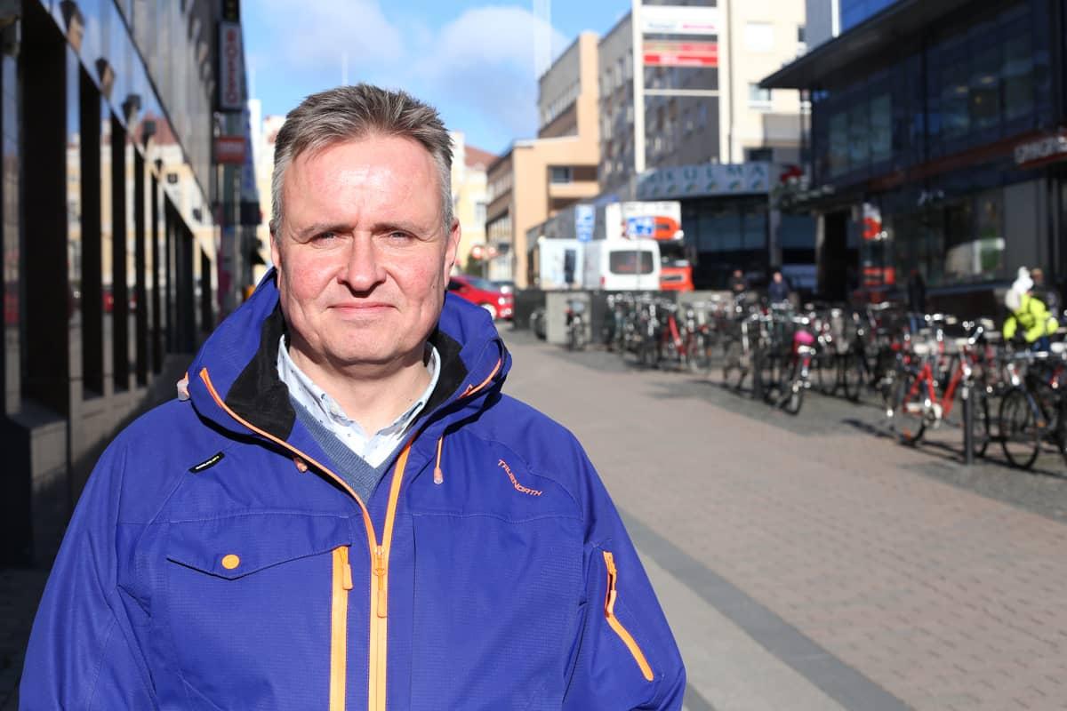 Kuuskaistan toimitusjohtaja Tapio Saarinen