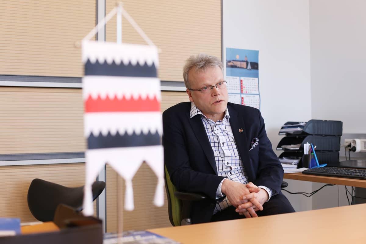 Saarijärven kaupunginjohtaja Timo Rusanen
