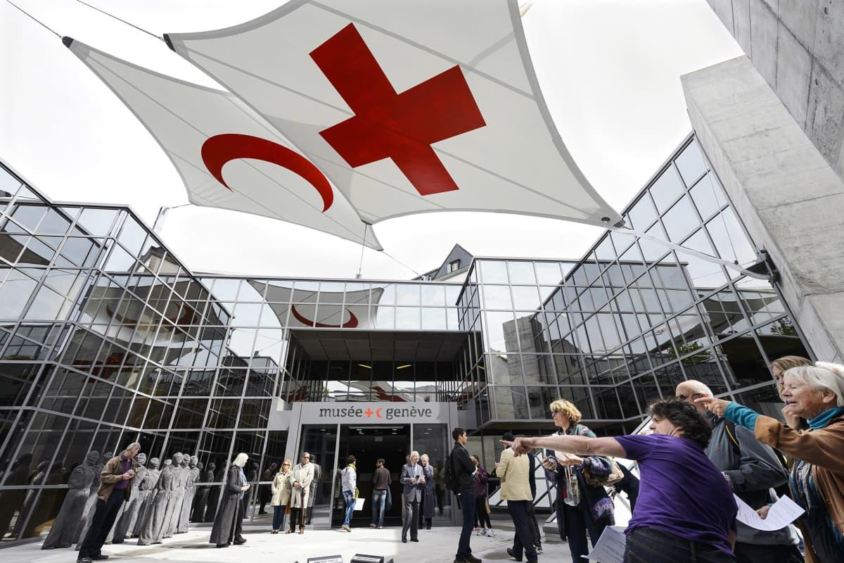 Punaisen ristin historiasta kertova museo sijaitsee järjestön päämajan yhteydessä Genevessä.