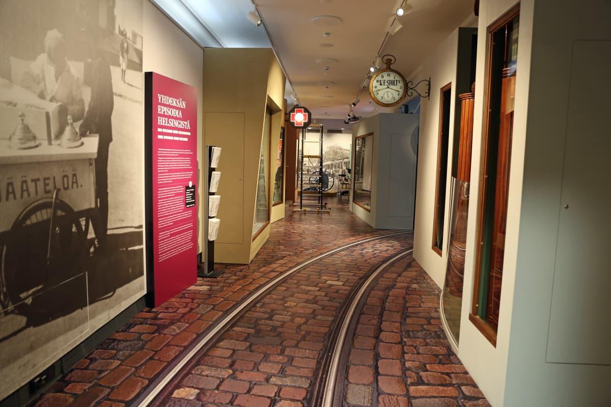 Museossa voi kokea astuvansa sisään 1900-luvun alkupuolen Helsinkiin.