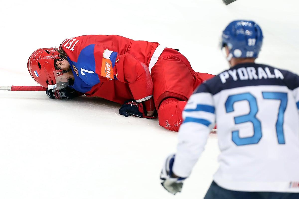 Ivan Telegin loukkaantuminen
