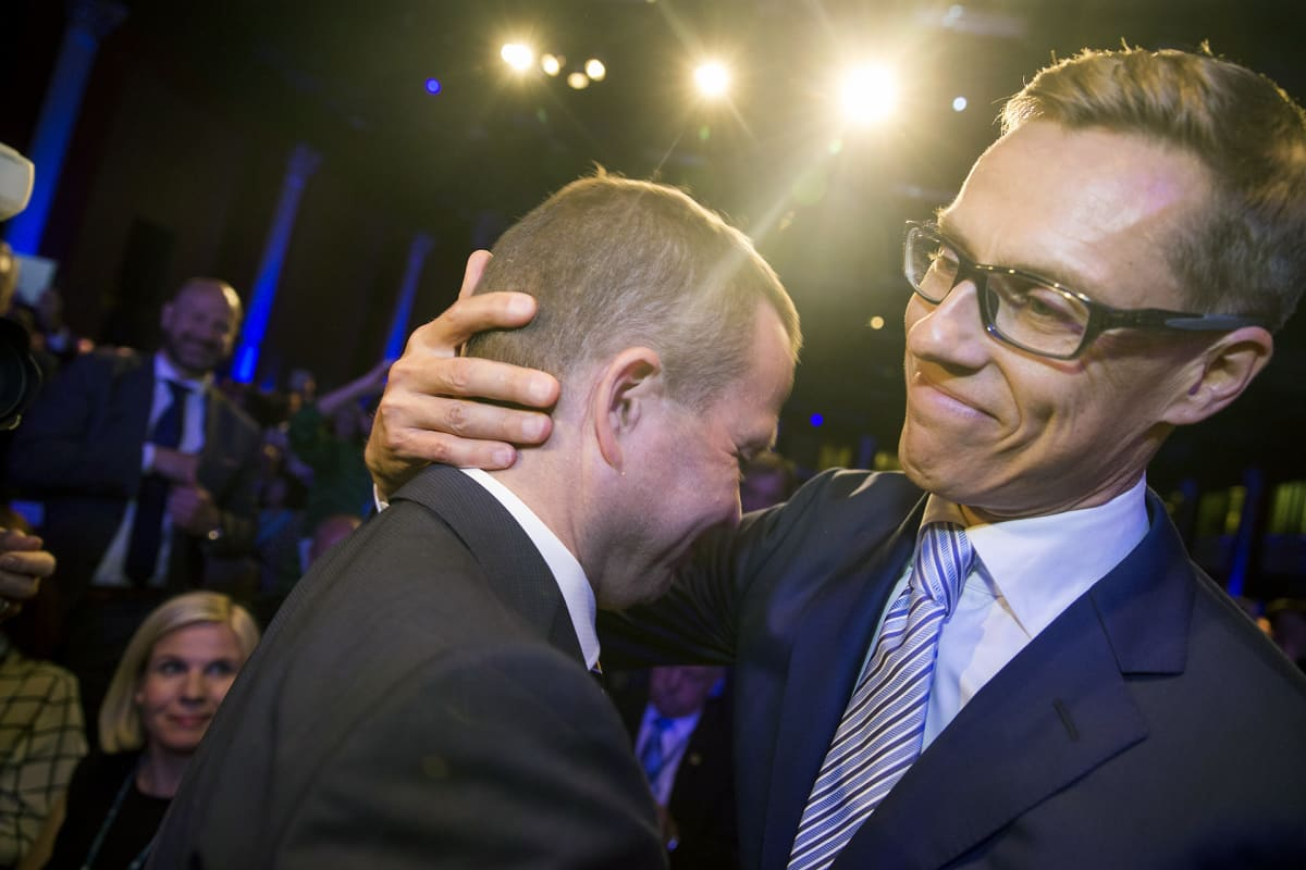 Petteri Orpo Alexander Stubb