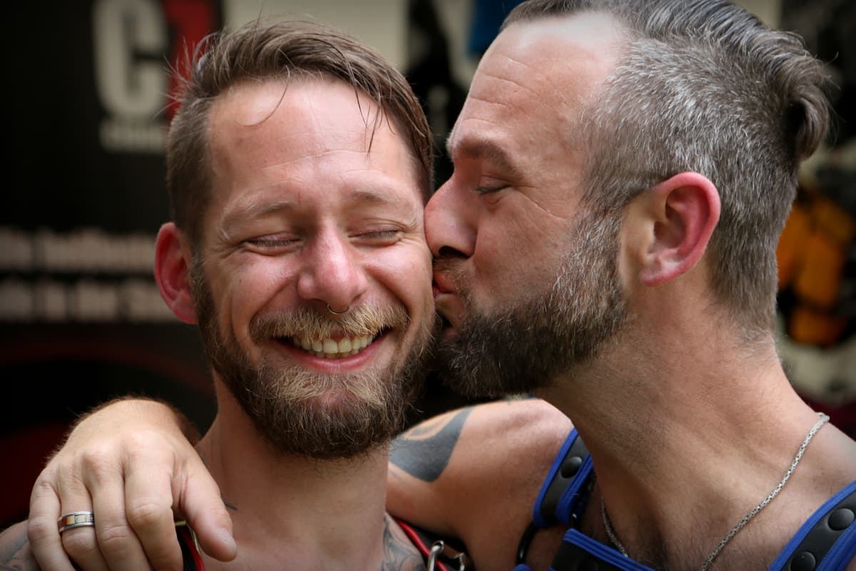 Thomas ja Joe ovat tyytyväisiä elämäänsä Wienissä.