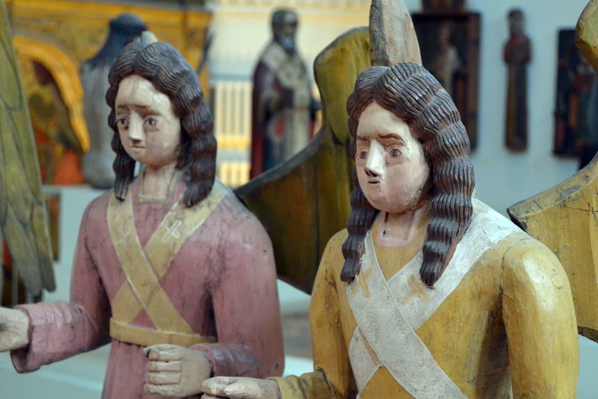 Kristusveistoksia museo Perm Venäjä.