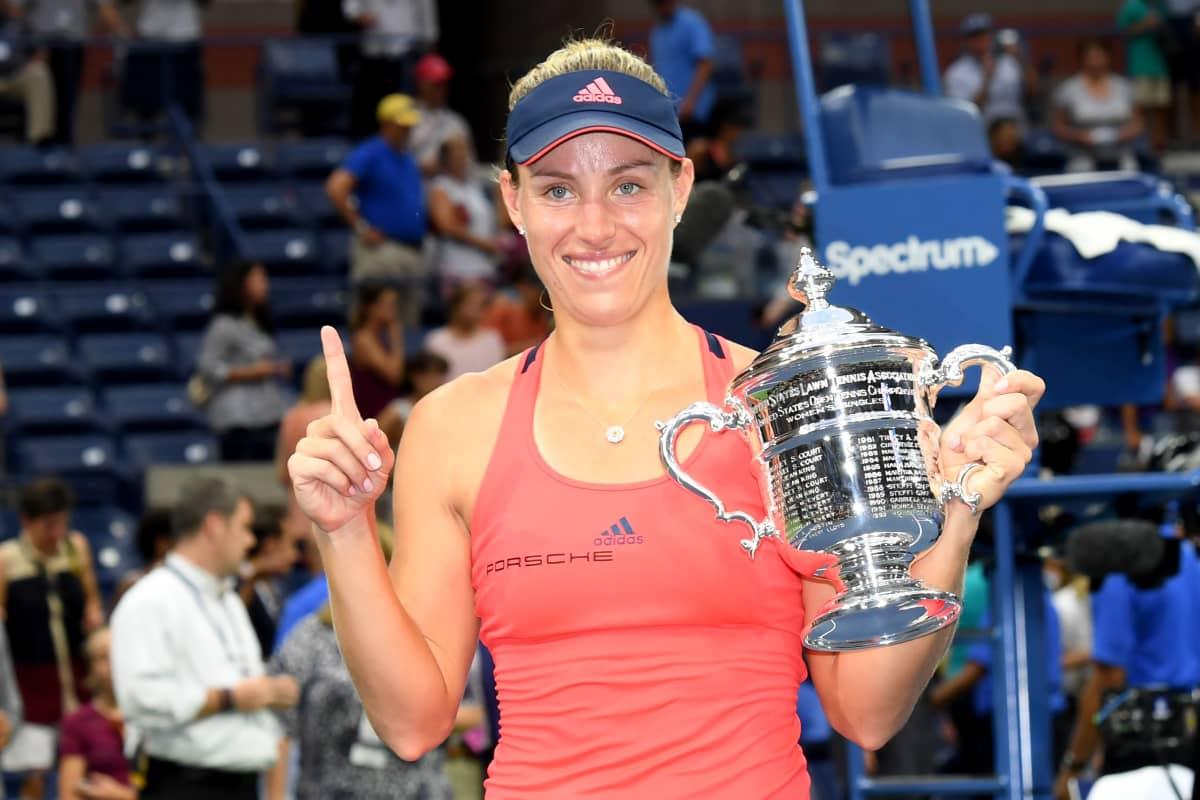 Angelique Kerber voitti US Openin 2016