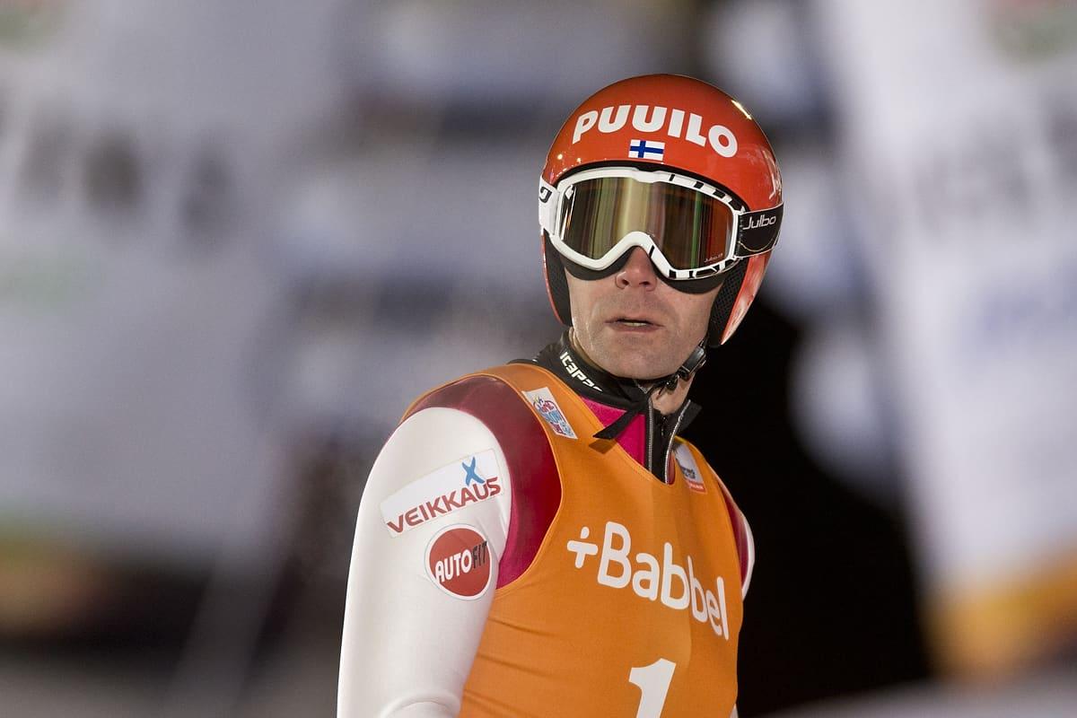 Janne Ahonen kuvassa