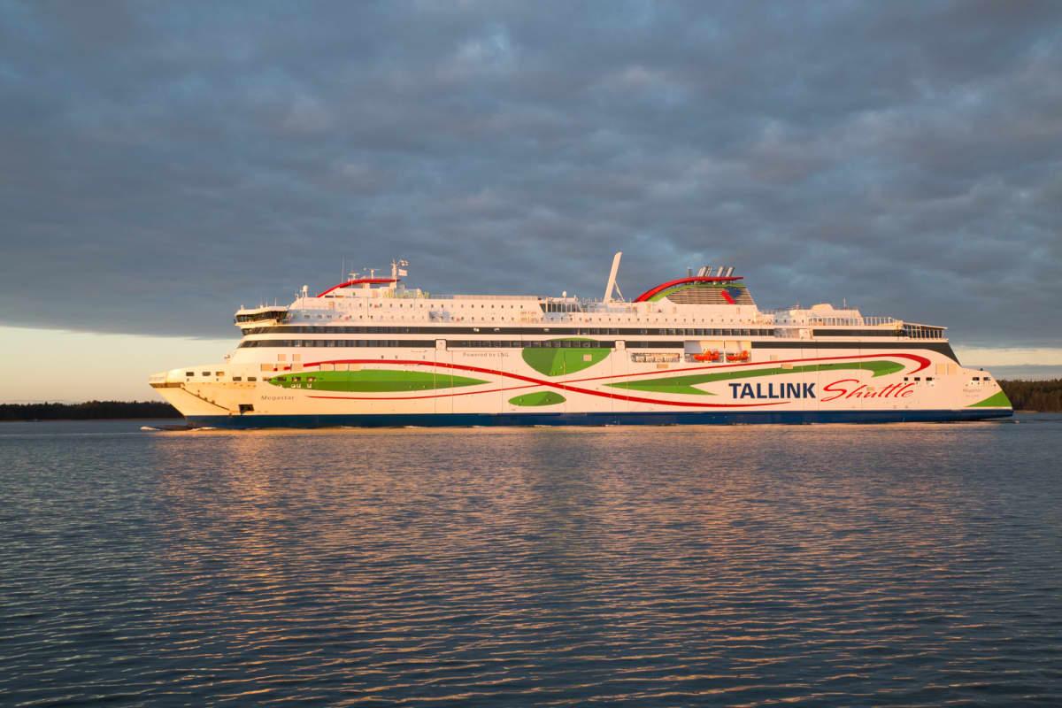 Tallinkin LNG-alus Megastar.